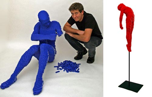 picture of LEGO sculptor