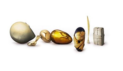 google doodle as brancusi sculptures