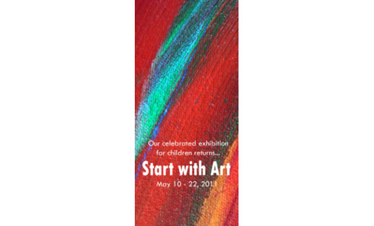 start with art exhibition