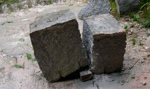 granite blocks binkley studio