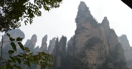 Michael Binkley, sculptor, zhangziea, Wulingyuan, mountains, China