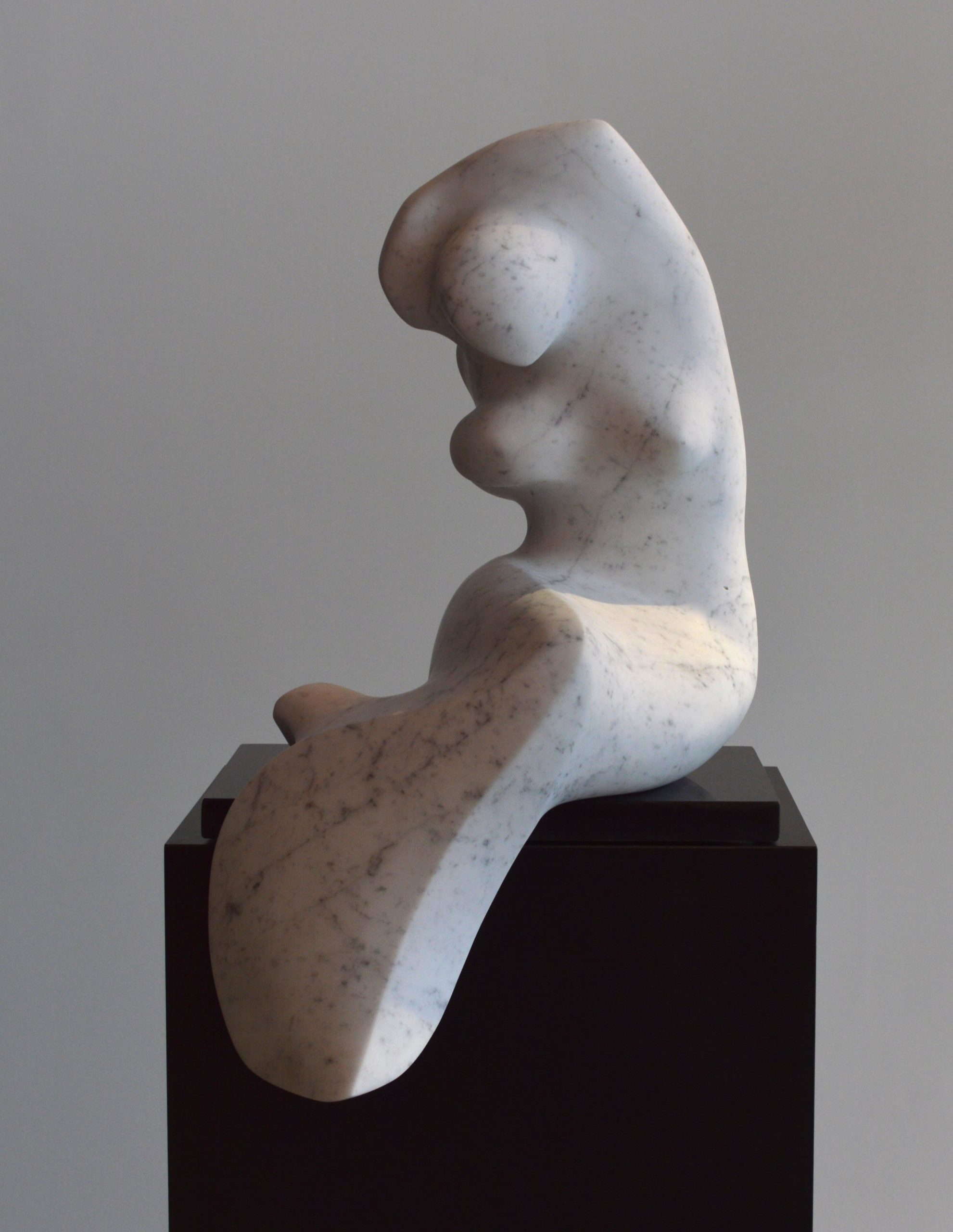michael binkley sculptor stone sculoture female nude abstract