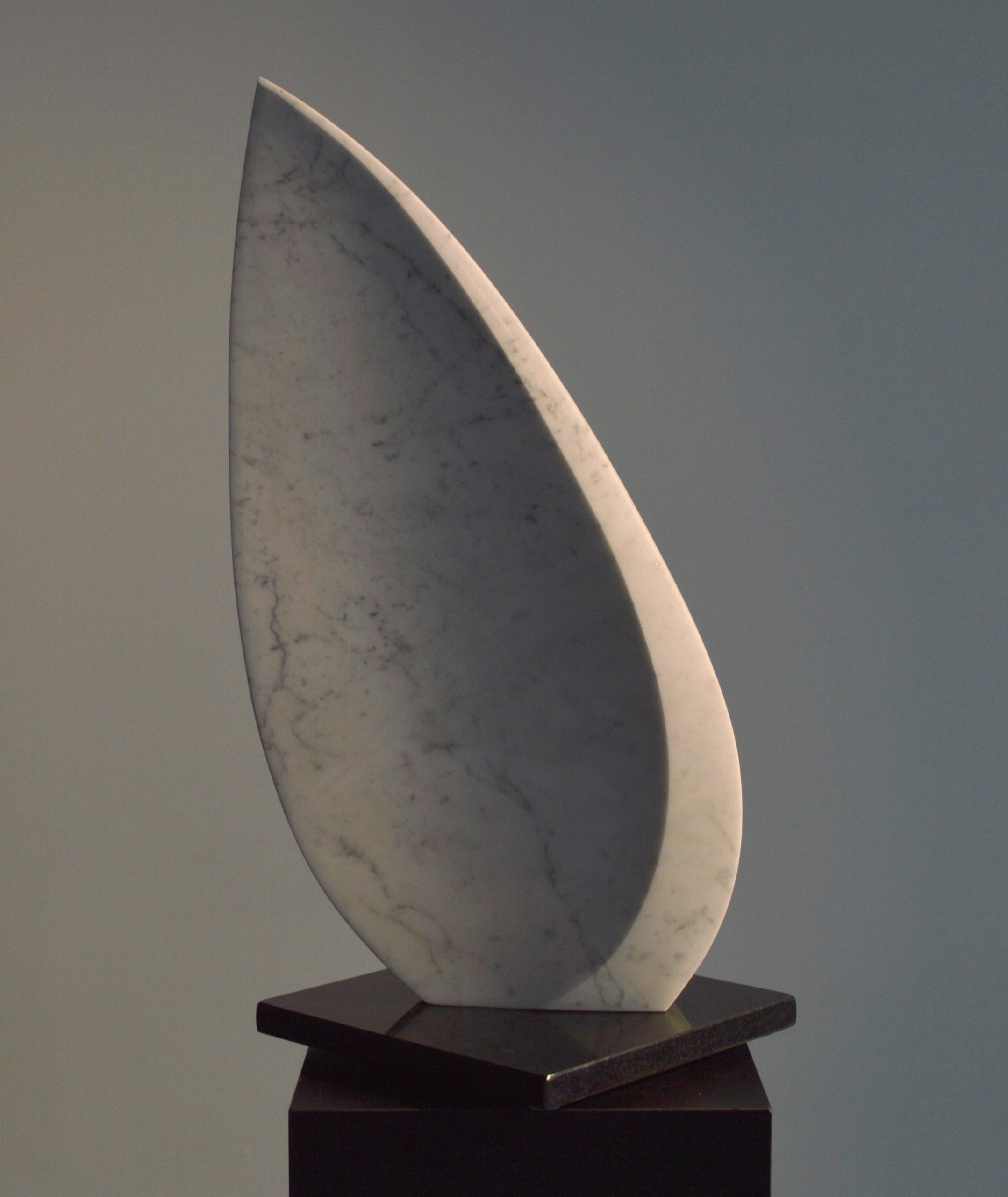michael binkley sculptor stone sculpture abstract harp marble vancouver canada