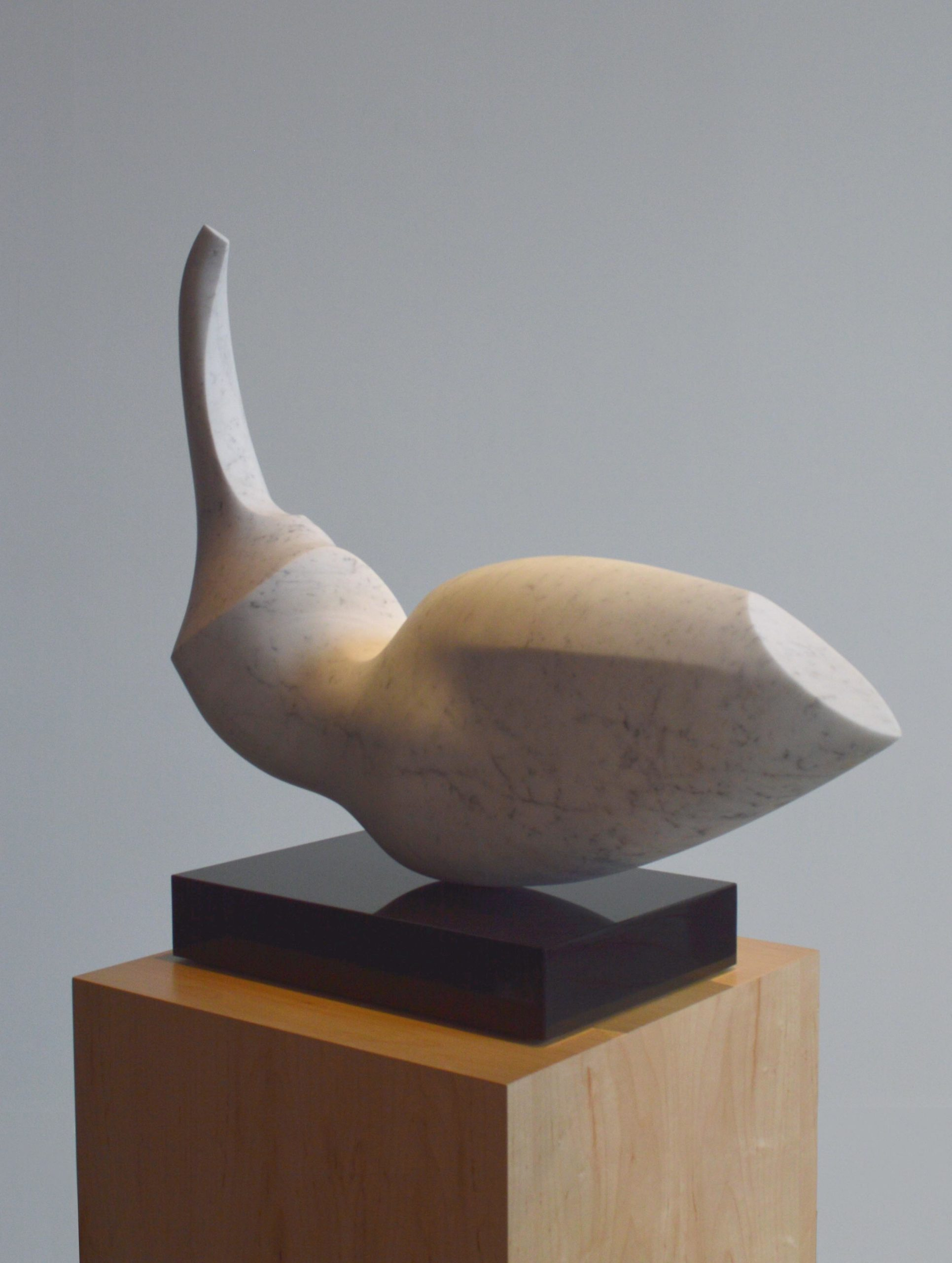michael binkley sculptor stone sculpture abstract female torso marble granite