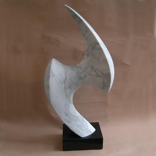 michael binkley sculptor stone sculpture artist abstract marble andromeda statue vancouver canada