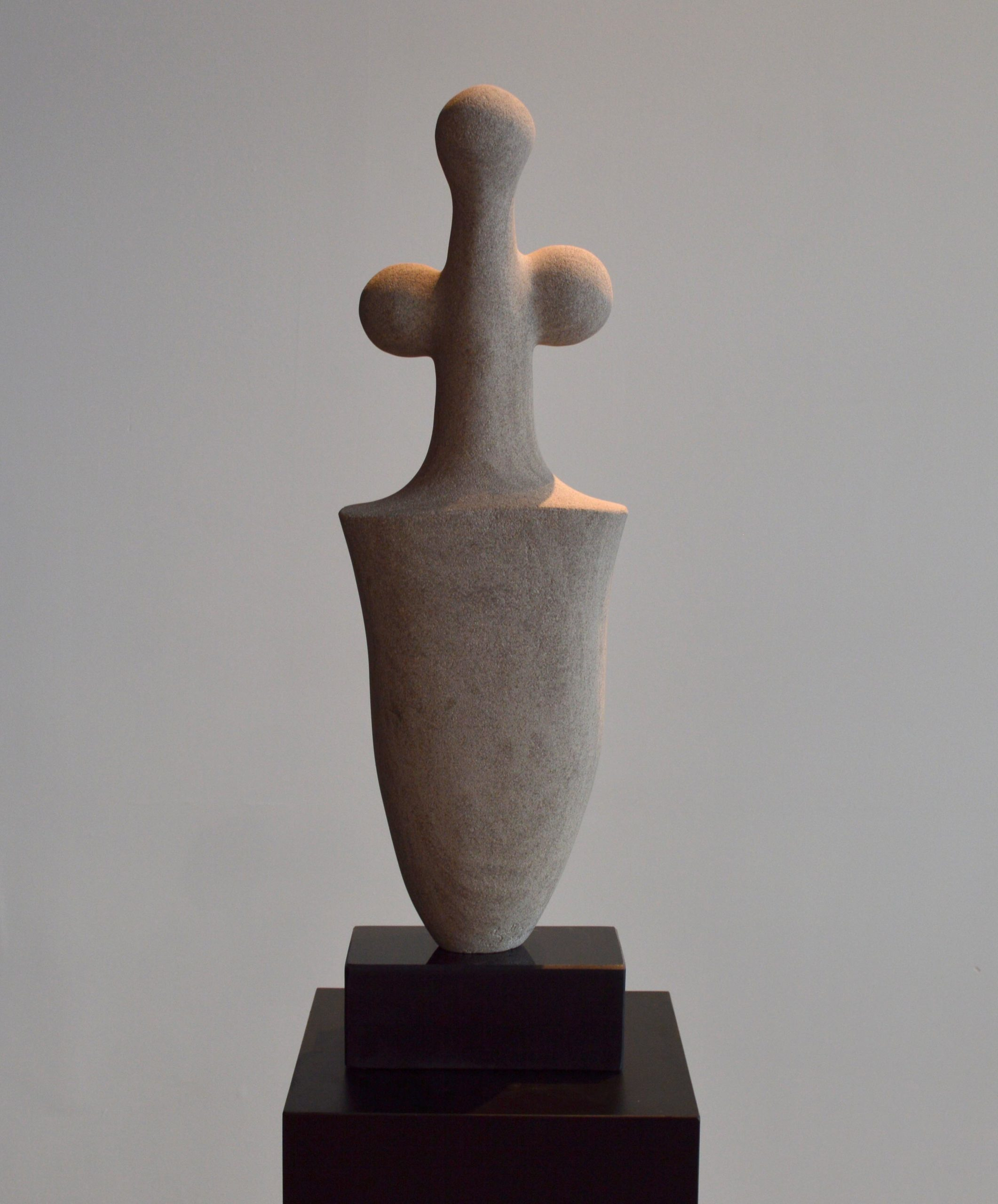 michael binkley sculptor stone sculpture abstract female nude garden statue limestone vancouver canada