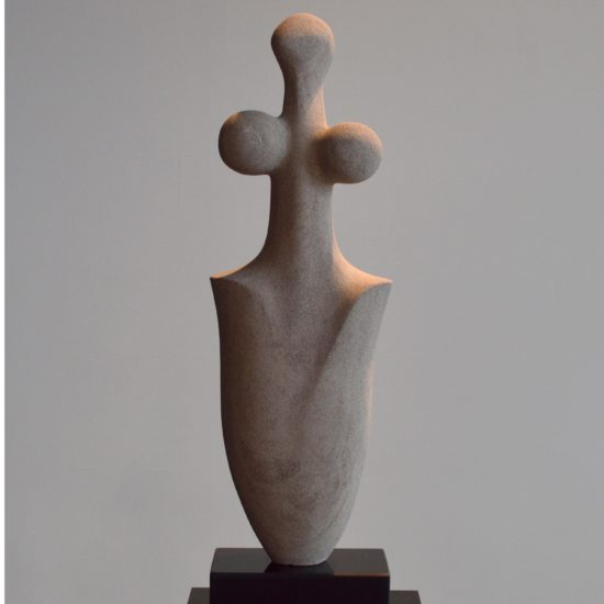 michael binkley sculptor stone sculpture abstract female nude garden statue limestone vancouver canada