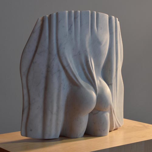 michael binkley sculptor stone sculpture female nude statue carrara marble vancouver canada