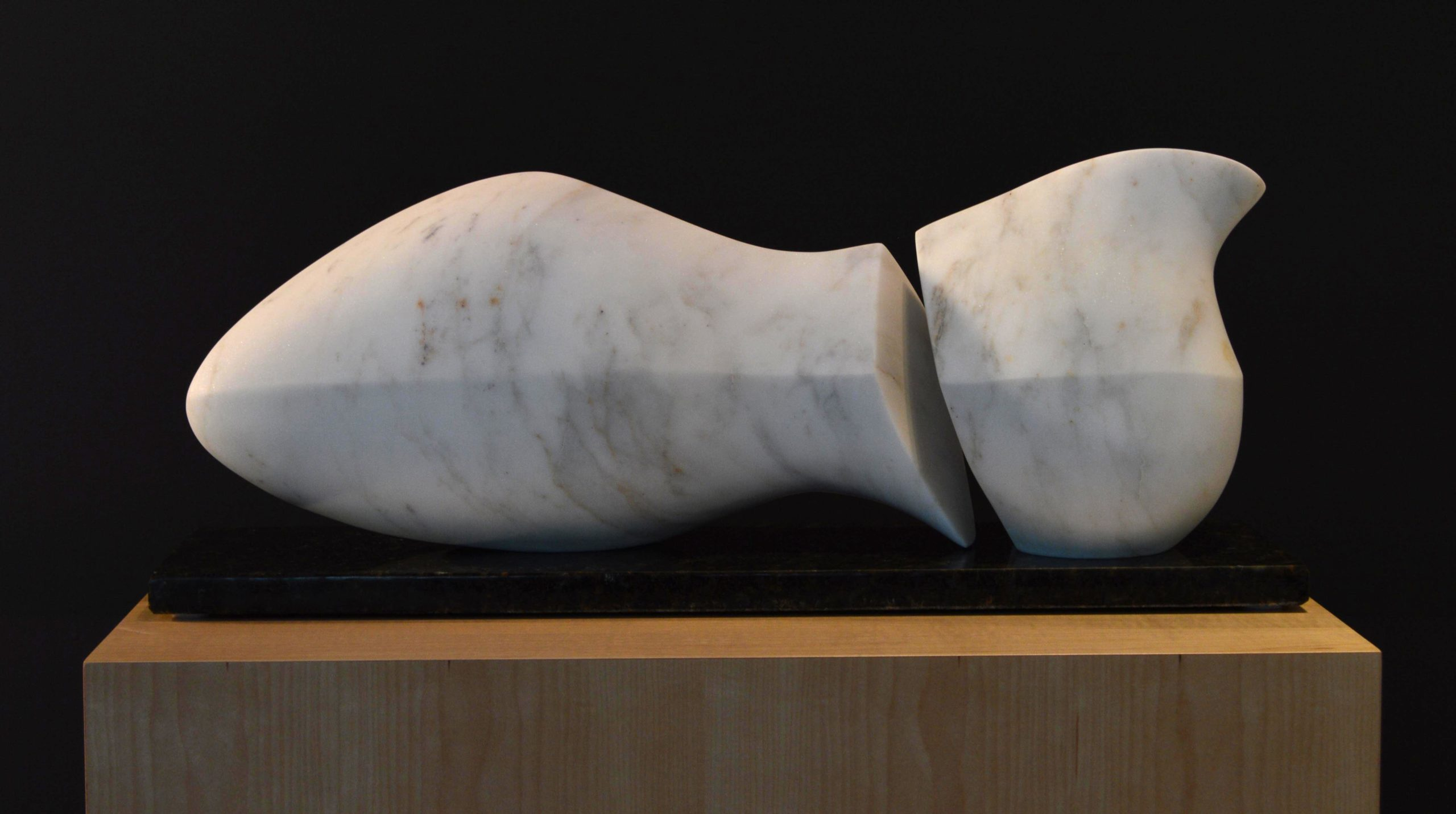 michael binkley sculptor stone sculpture abstract female torso carrara marble vancouver canada
