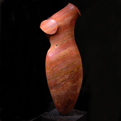 michael binkley sculptor stone sculpture artist abstract torso statue vancouver canada
