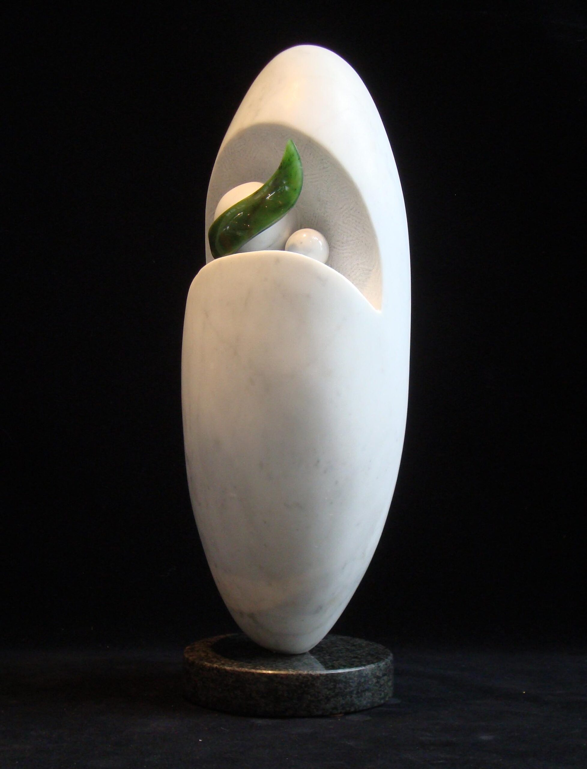 michael binkley sculptor stone sculpture artist abstract marble nephrite jade statue vancouver canada