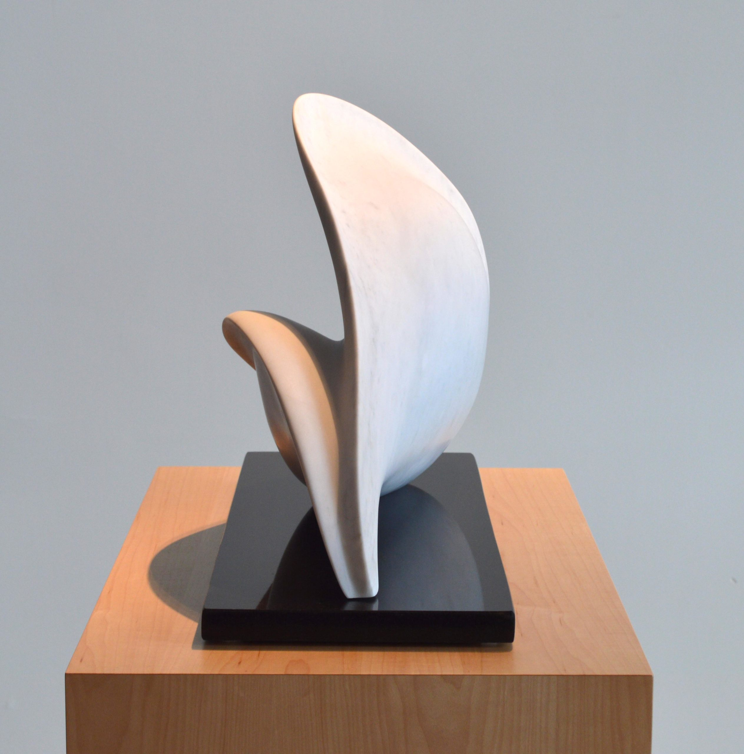 michael binkley sculptor stone sculpture abstract carrara marble vancouver canada