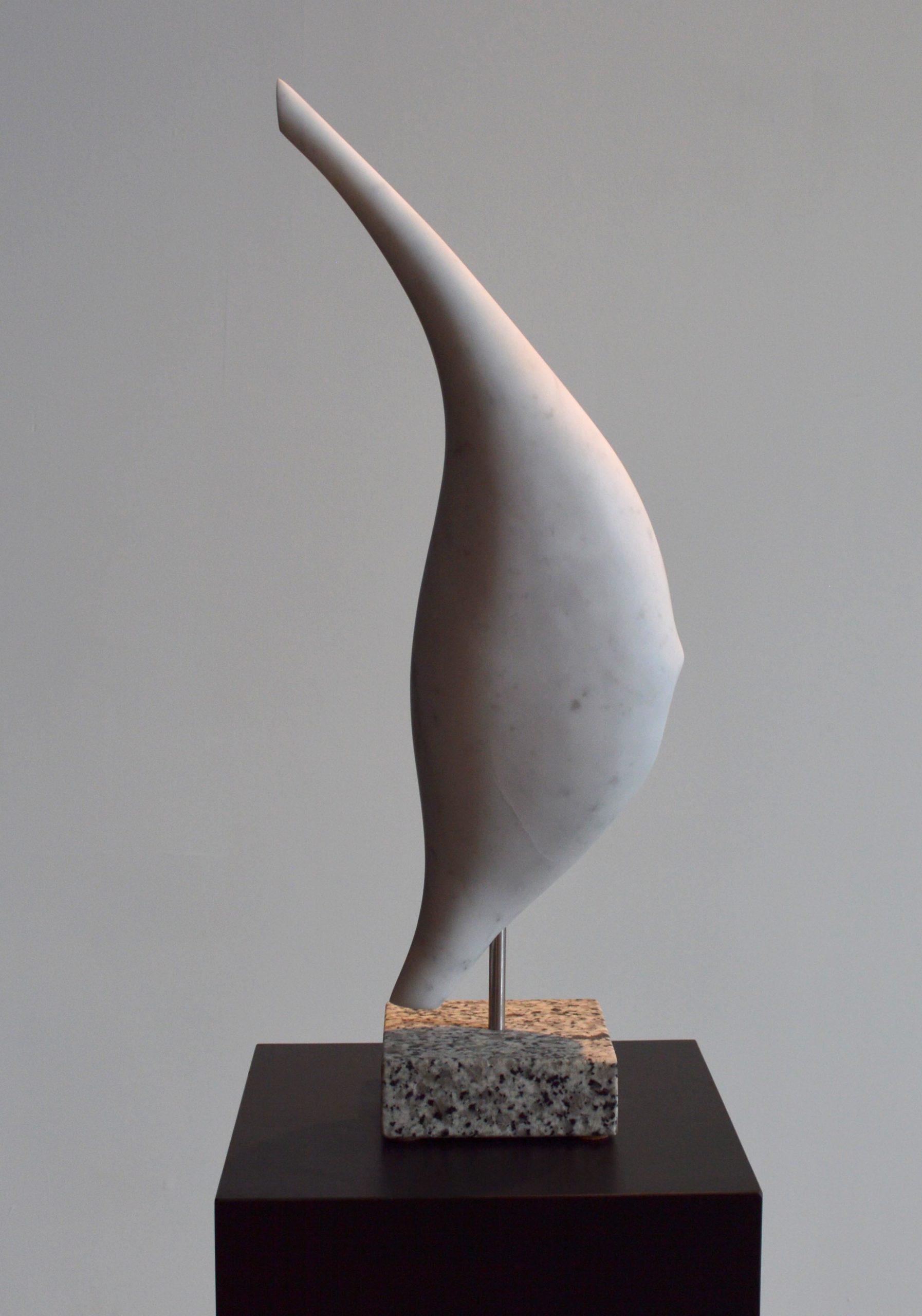 michael binkley sculptor stone sculpture abstract fine art carrara marble vancouver canada