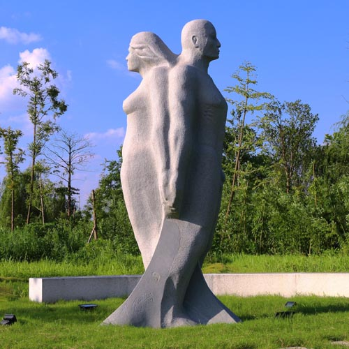 michael binkley sculptor stone sculpture artist nude figurative granite monumental statue vancouver canada