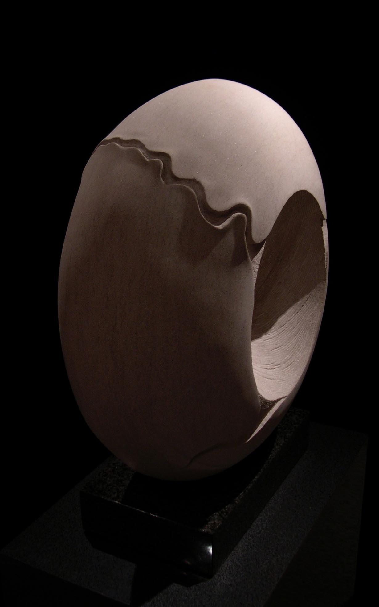 michael binkley sculptor stone sculpture artist abstract vortex statue vancouver canada