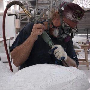 michael binkley sculptor stone sculpture workshops squamish canada