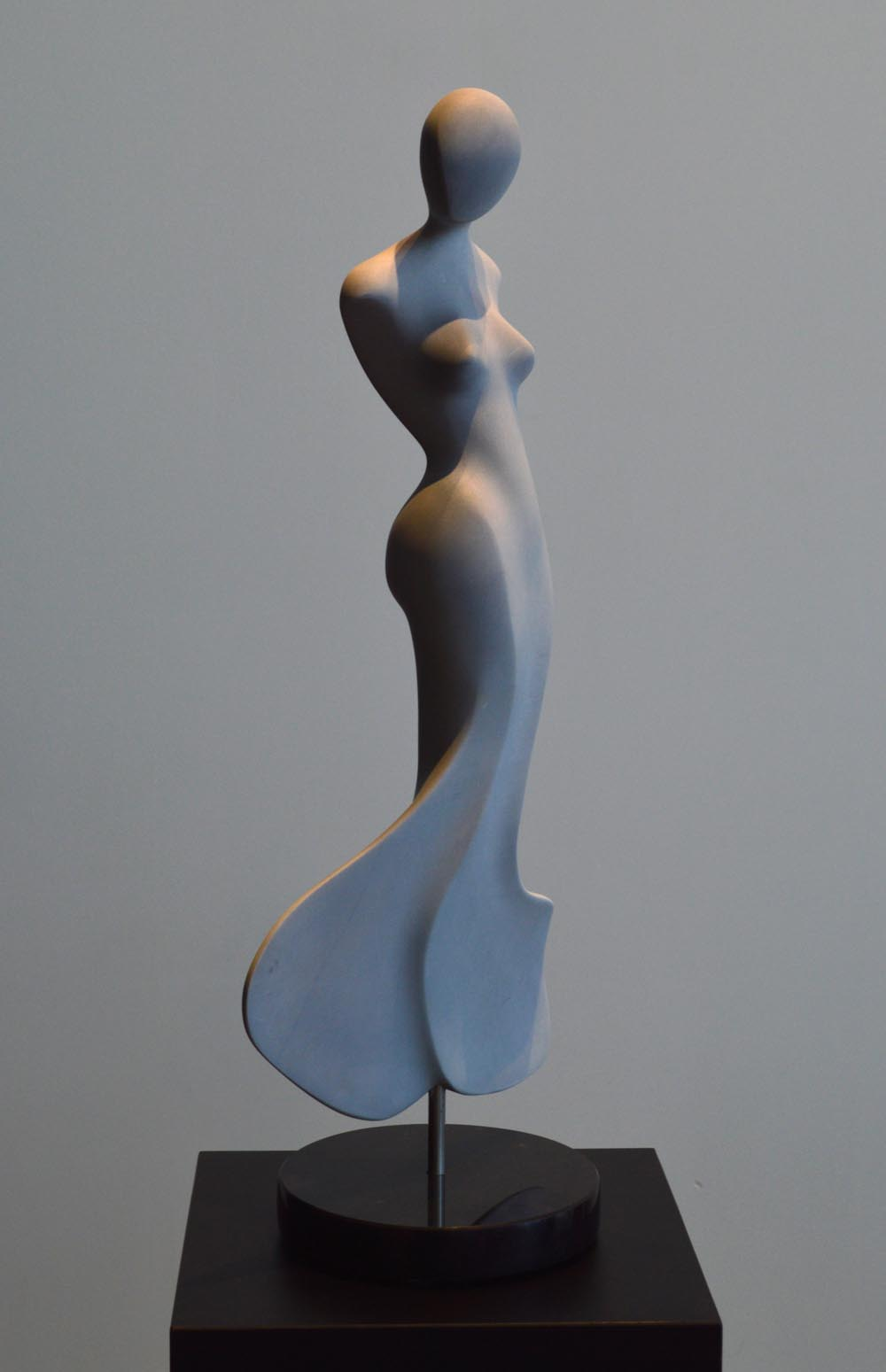 michael binkley sculptor stone sculpture female nude fine art marble vancouver canada