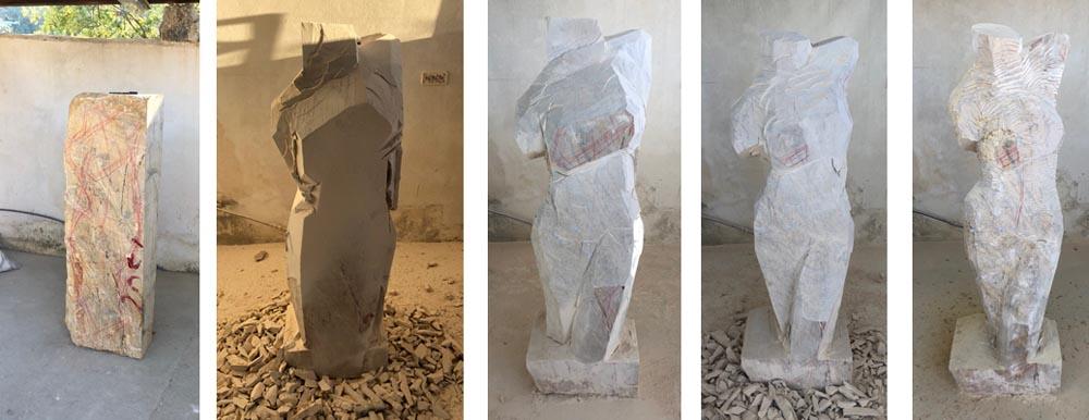 michael binkley sculptor stone sculpture