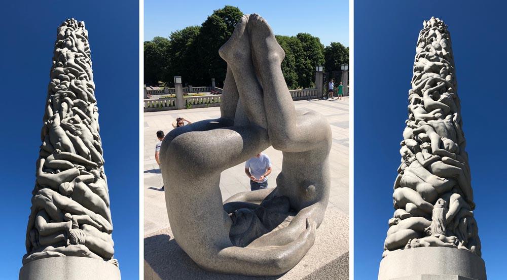 michael binkley sculptor stone sculpture vigeland park oslo norway