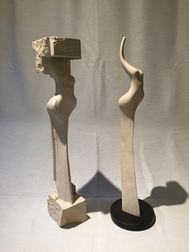 michael binkley sculptor stone sculpture cnc limestone robot carving vancouver canada