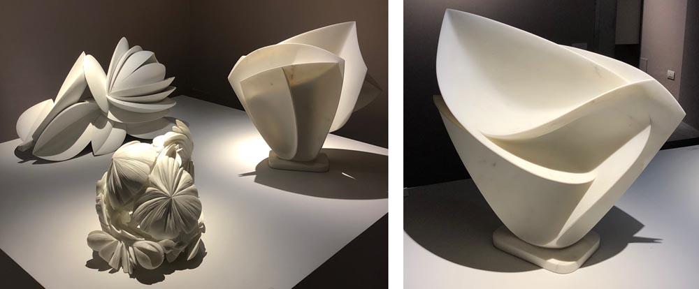 michael binkley sculptor stone sculpture gigi guadagnucci museo massa italy