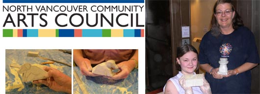 michael binkley stone carving class workshop north vancouver community arts council