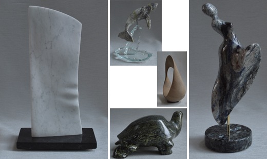 michael binkley sculptor in stone sculpture studio show art gallery artist vancouver